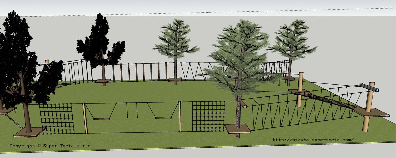 lanovypark vizualizacia projekcia