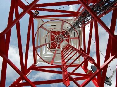 Telekomunikačný stožiar Lysá – práce vo výškach